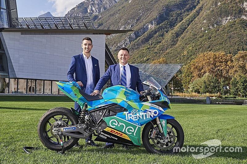 Presentato il Team Trentino Gresini, che dal 2019 correrà in MotoE con Matteo Ferrari
