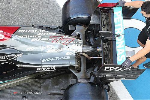 Mercedes: nel mirino la sospensione, ma fa paura il motore
