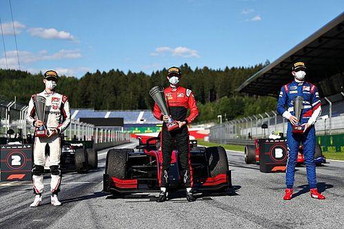 Ilott gana la primera de la F2 2020 en Austria