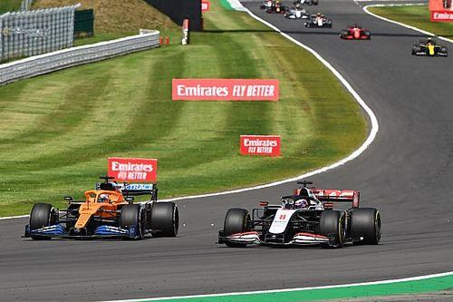 """Sainz considera """"inaceptable"""" la defensa de Grosjean en Silverstone"""