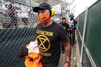 Quatre manifestants se sont introduits à Silverstone pour le GP