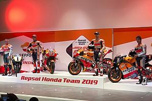 Honda: ecco i colori Repsol delle RC213V del