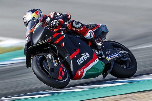 "Dovizioso's Aprilia MotoGP bike feedback ""similar"" to Espargaro"