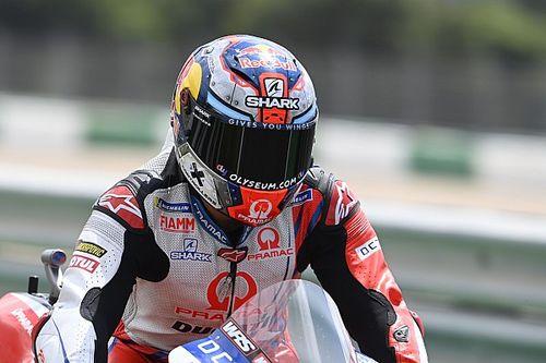 ホルヘ・マルティン、FP3のクラッシュで予選・決勝は欠場へ。検査で病院へ搬送