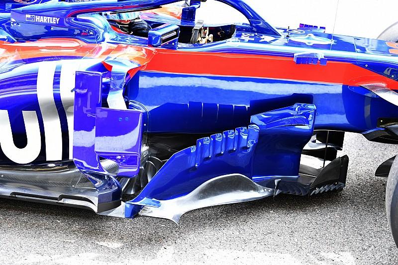 Toro Rosso запропонувала Ф1 заборонити бічні дефлектори