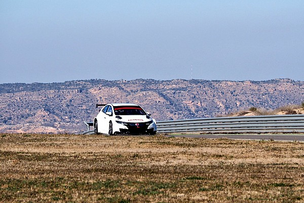 Primi test per la Honda ad Aragón