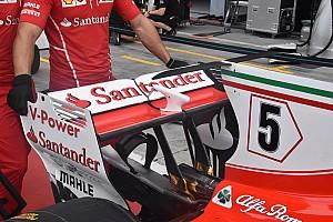 Formule 1 Diaporama Les nouveautés techniques à Monza