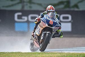 MotoGP Practice report Sachsenring MotoGP: Barbera beats Marquez in wet FP2