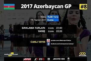 FORMULA 1 LİGİ Son dakika 2017 Azerbaycan GP Sanal Turnuva: Canlı Yayın