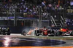 Formel 1 News Nach F1-Singapur-Drama: Alonso schlug ein Loch in die Wand