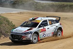 WRC Ultime notizie Andolfi soddisfatto della sua i20 R5 dopo i test in Finlandia