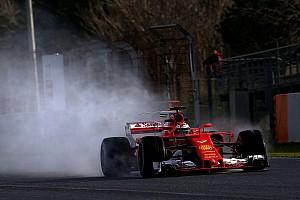 F1 Reporte de pruebas Raikkonen encabeza la mañana de Barcelona con pista mojada