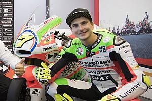 Moto2 Ultime notizie Lorenzo Baldassarri sta bene: la TAC ha escluso lesioni cerebrali