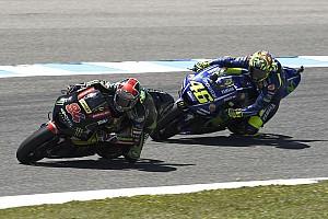MotoGP Últimas notícias Para Rossi, ver Tech3 à frente da Yamaha não preocupa