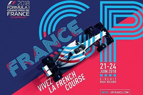 Presentan cartel, lema y boletos para el GP de Francia
