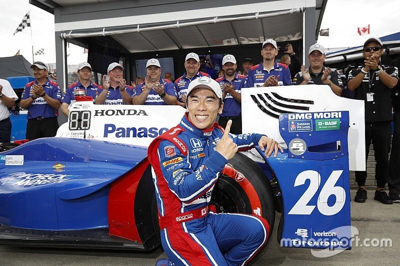 【インディカー】デトロイトGPレース2予選:佐藤琢磨がPP獲得
