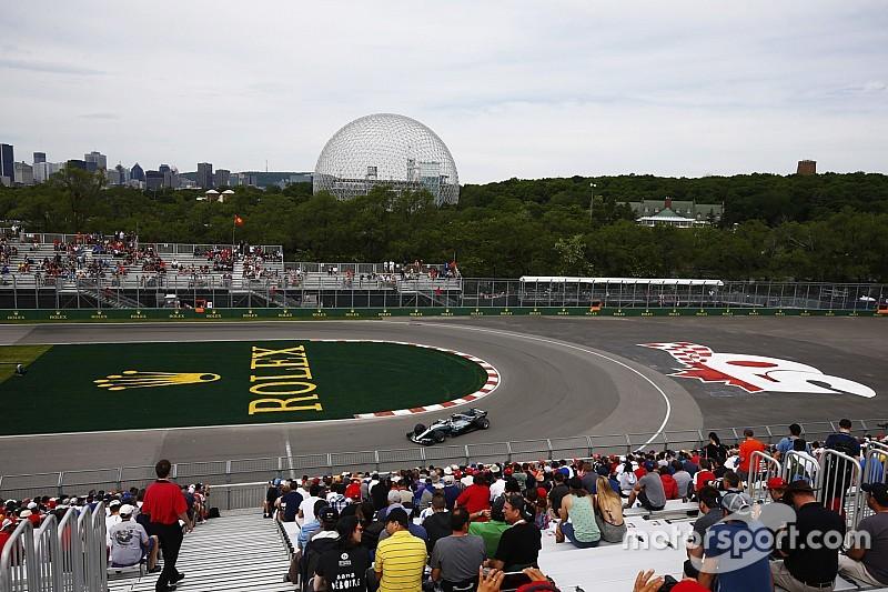【F1】カナダFP1詳報:首位ハミルトン。ベッテルは0.1秒差で2番手