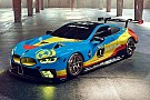 Automotive BMW M8 GTE digitally decked out in art car livery