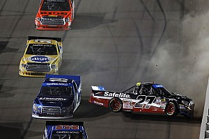 NASCAR Truck Breaking news Rhodes and Cindric collide in battle to advance into final four
