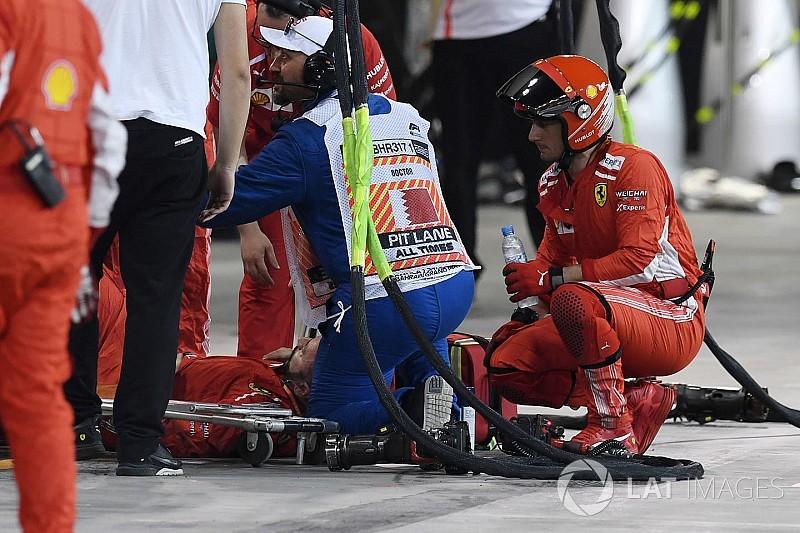 Incidente al pit stop: la Ferrari è stata multata di 50 mila euro