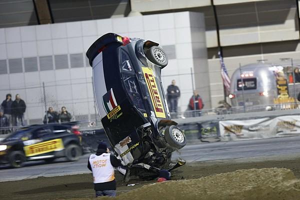 Speciale I più cliccati Fotogallery Motor Show: Solberg capotta ancora, ma ha grinta da vendere!