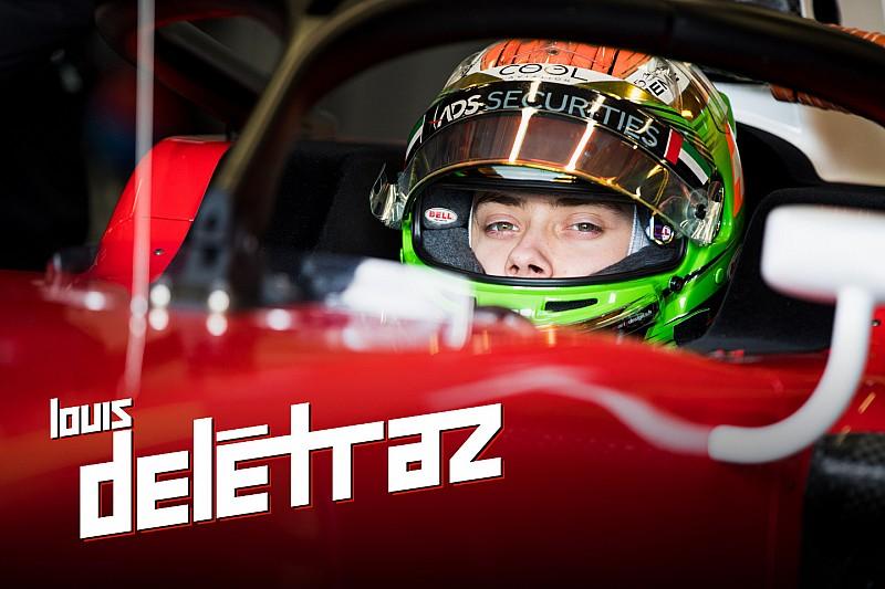 Colonna Louis Delétraz – Sotto l'occhio della Ferrari nel 2018