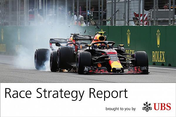 Report Strategie: il crash delle Red Bull è stato un regalo per la Mercedes