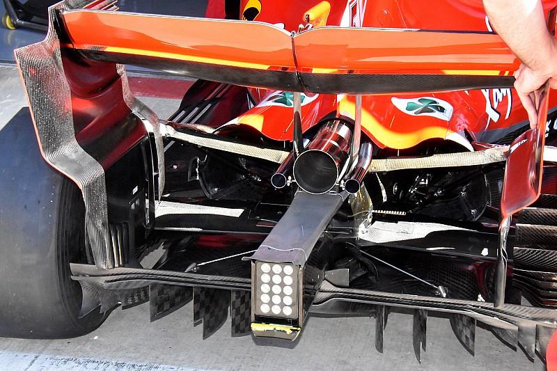 További apróságok tűntek fel a Ferrari továbbfejlesztett autóján