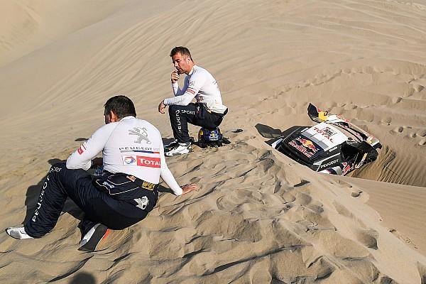 Loeb teme haber perdido su última chance de ganar el Dakar