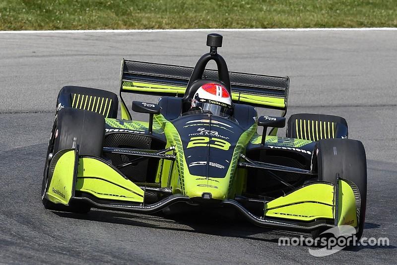 Kimball correrá de tiempo parcial en IndyCar