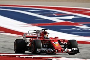 Formel 1 Reaktion Sebastian Vettel sitzt Hamilton im Nacken: