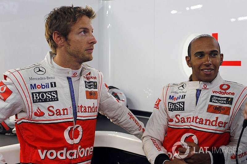 """Button : """"Hamilton était un coéquipier un peu bizarre"""""""