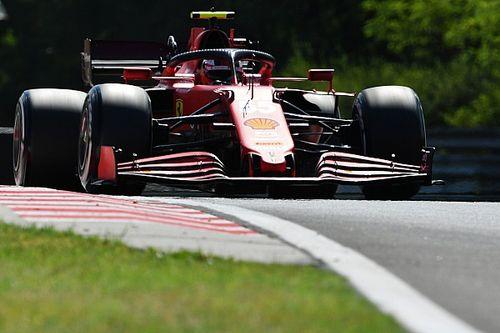 """Sainz: """"Sapevamo che la Ferrari avrebbe sofferto in Ungheria"""""""