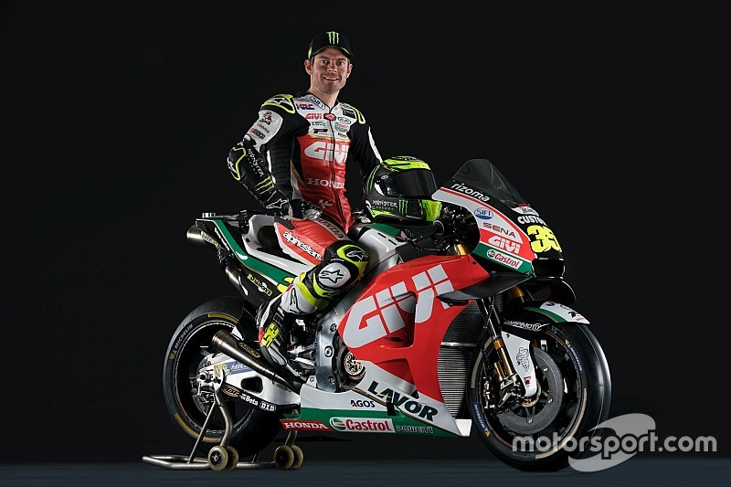 LCR reveals Crutchlow's 2019 MotoGP livery