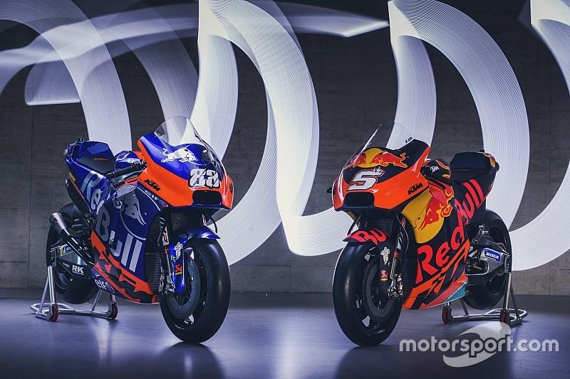 Fotogallery: KTM adotta lo stile Red Bull e Toro Rosso per la livrea delle RC16 2019