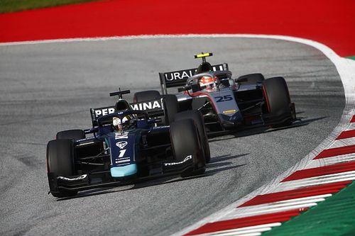 Онлайн. Вторая гонка Формулы 2 в Австрии