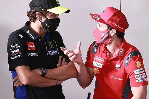Rossi keen on having Dovizioso as Yamaha MotoGP test rider