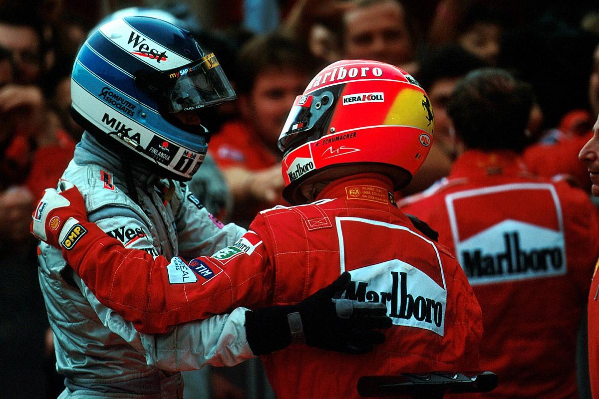 Häkkinen és Schumacher legendás rivalizálása: egyedülálló!