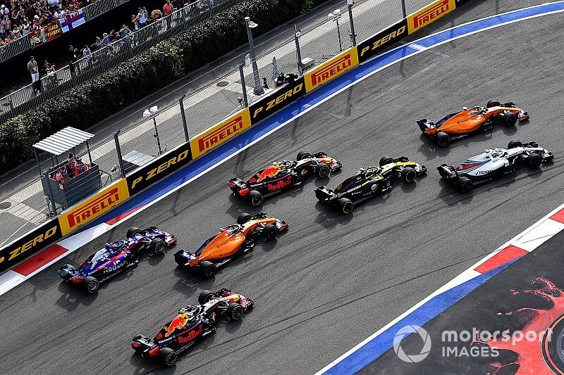 Los equipos se reúnen en miras a mejorar el show de la F1
