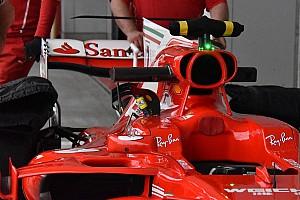 Formula 1 Analisi Ferrari: ala posteriore a cucchiaio e termo-camera sulla SF70H di Kimi