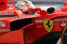 Vettel se disculpó con Ferrari pero alabó al equipo