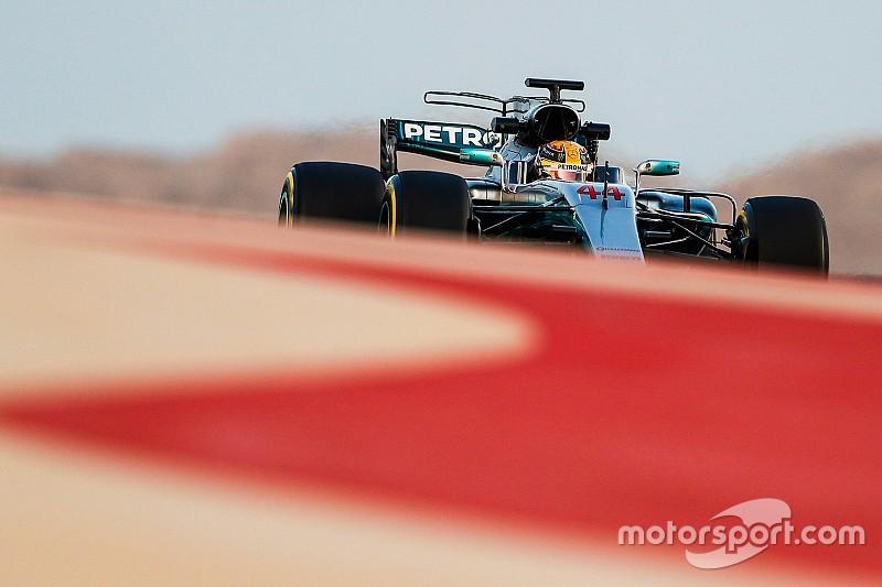 Mercedes se centra en entender los Pirelli en el último día de test en Bahrein