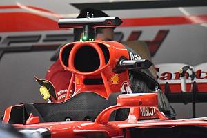 Формула 1 Аналитика Технический брифинг: система охлаждения Ferrari SF70H