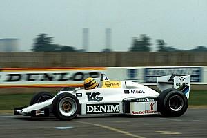 GALERÍA: a 34 años de que Senna probará por primera vez un F1