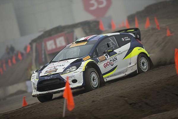 Rally Tobia Cavallini impegnato al Monza Rally Show e Motor Show 2017