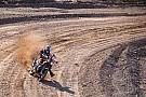 Cross-Country Rally Dakar-winnaar Sunderland hard onderuit in trainingswedstrijd