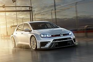 TCR News Volkswagen präsentiert modifizierten TCR-Golf für 2017