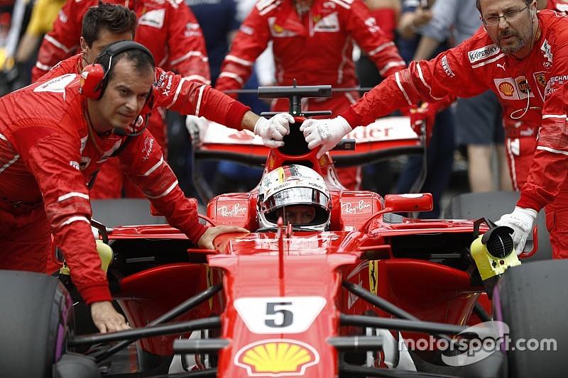 """Vettel: """"El equipo no merecía esta posición"""""""