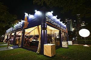 Stop/Go Livefeed A Singapore Airlines továbbra is a Szingapúri Nagydíj főszponzora marad