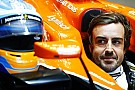 F1 Alonso en pruebas de su asiento para 2018